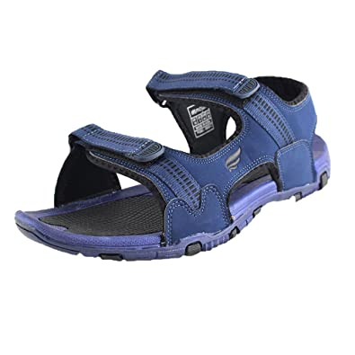 Mmojah Mens Walker Navy/Black Sandal -6 DSxE3lfE8p
