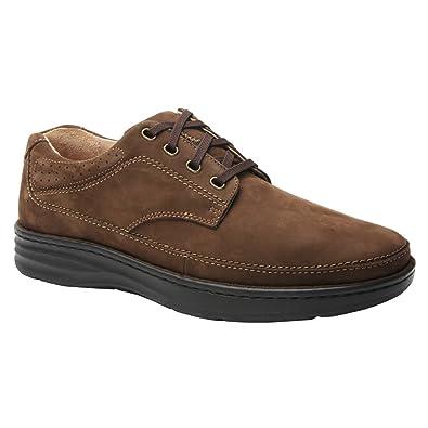 Drew Shoe Men's Toledo Fashion Oxfords, Brown, Leather, ...