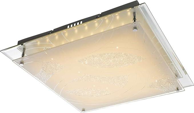 Led lampada da soffitto a 1 luci lampada da salotto 43 cm cristallo