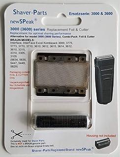 Braun Kombipack 3000 - Cabezal de recambio para afeitadora ...