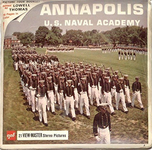 Annapolis U.S. Naval Academy Maryland 3d View-Master 3 Reel Packet
