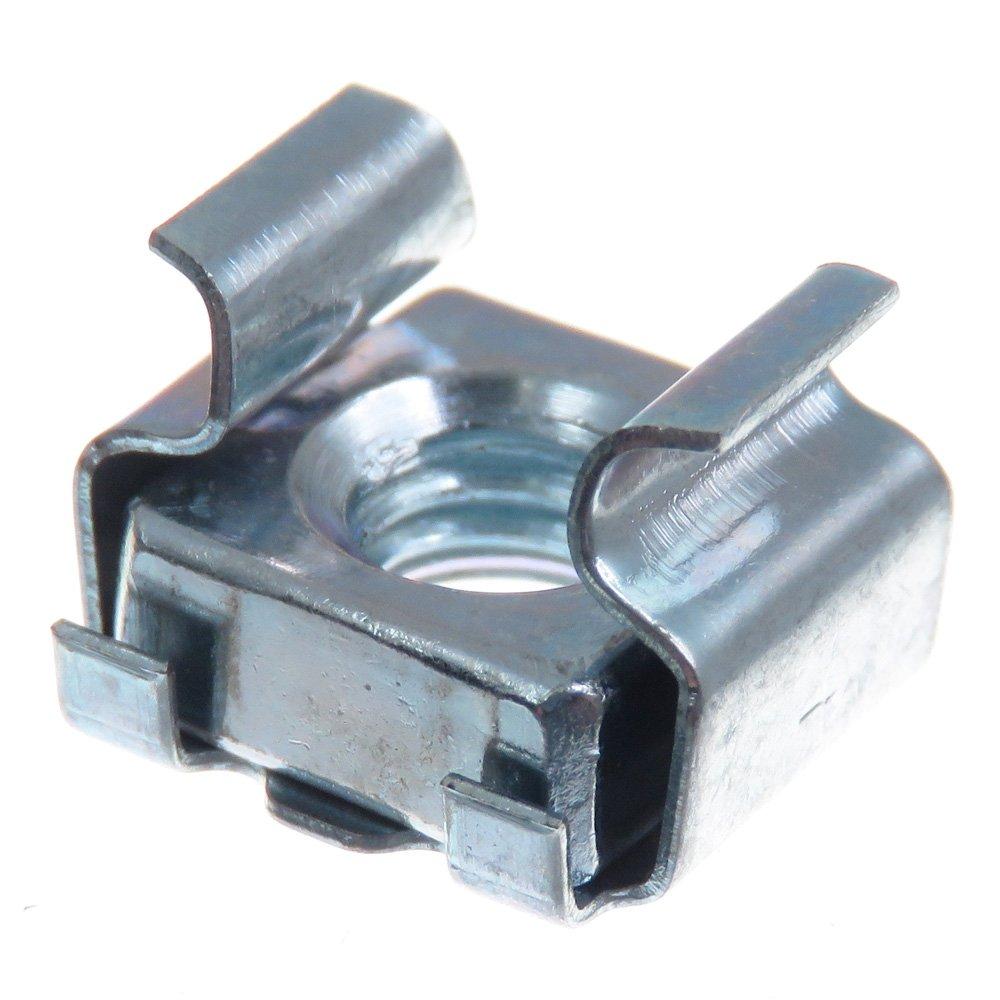 SECCARO É crou cage M6, pour montage en rack, acier galvanisé , 20 piè ces acier galvanisé 20 pièces ecomserv