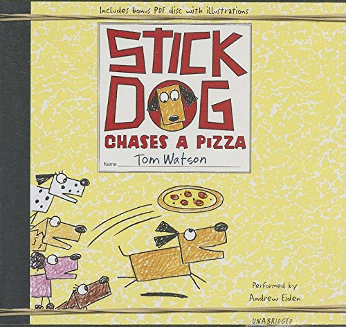 Stick Dog Chases a Pizza: Library Edition