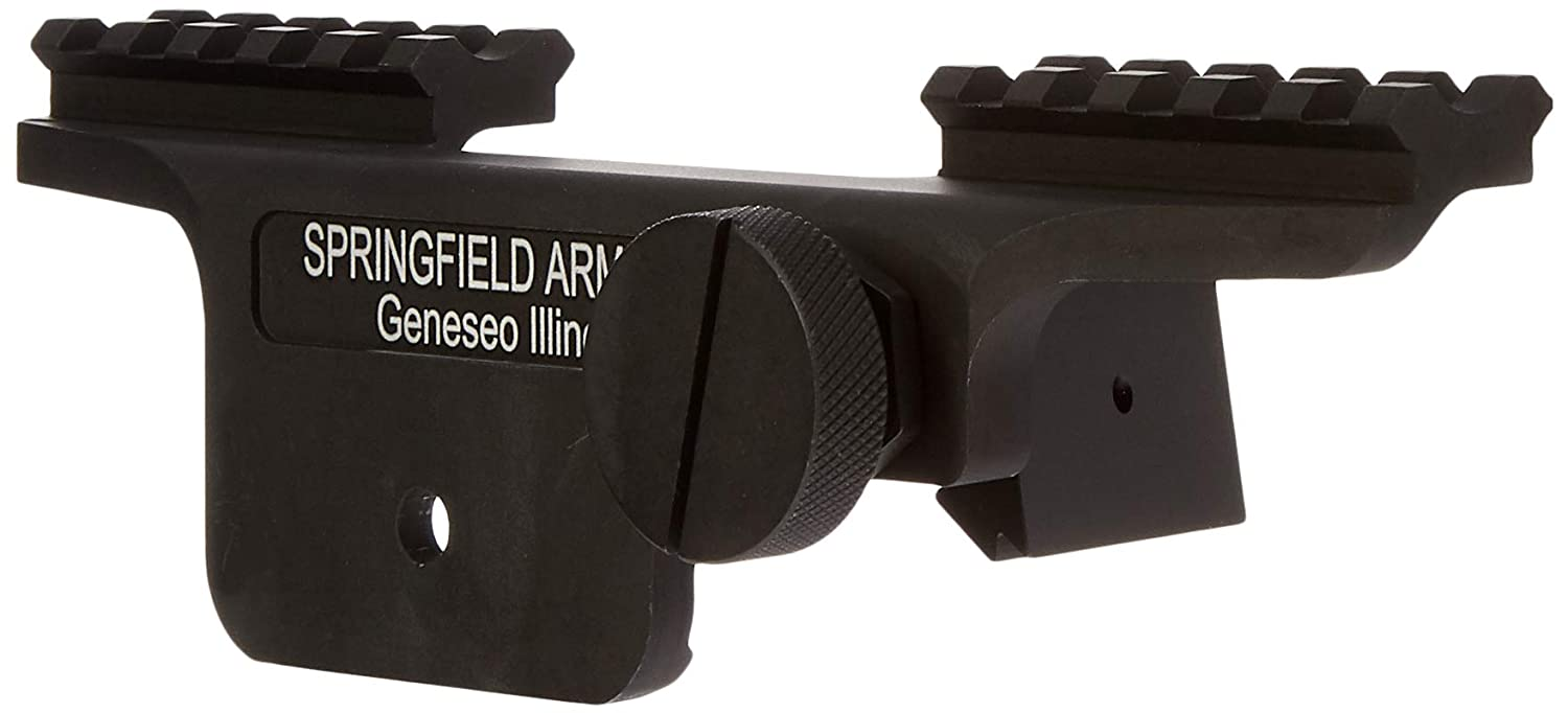 Springfield MA4GENAM M1A 1-Pc Scope Mount, Picatinny, Aluminum, Black Finish