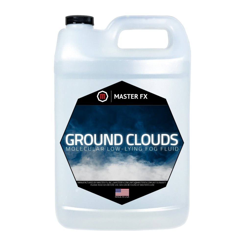 Ground Clouds - Fast Dissipating - Indoor Low- Lying Molecular Fog Fluid - 1 Gallon