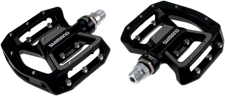 SHIMANO PD-GR500 Pedals Black; One Size