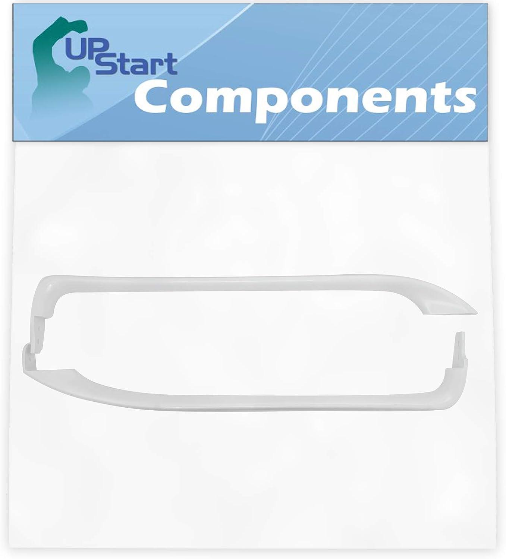 WR12X22148 Door Handles Set Replacement for General Electric GTH18GBDCRWW Freezer - Compatible with WR12X22148 Handle Door - UpStart Components Brand