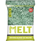 Snow Joe MELT50EB MELT 50 Lb. Resealable Bag Premium Environmentally-Friendly Blend Ice Melter w/ CMA