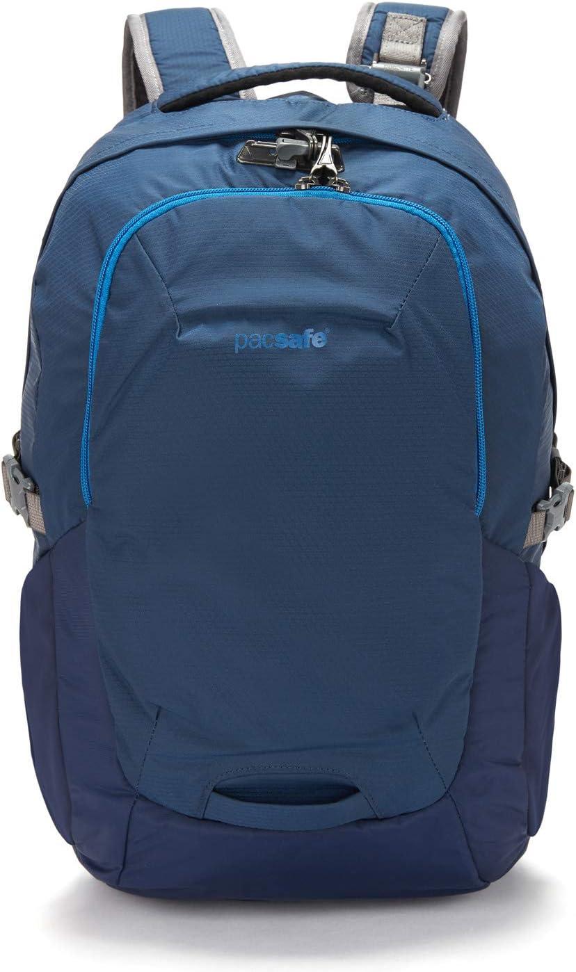 "Pacsafe Venturesafe G3 25 Liter Anti Theft Travel Backpack/Daypack-Fits 15"" Laptop, Lakeside Blue"