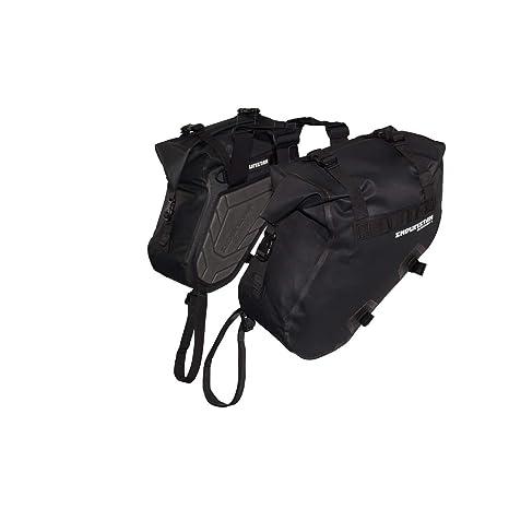 ENDURISTAN Blizzard Saddle Bags Medium//Satteltaschen//Gep/äcksystem//Softbags 100/% Wasserdicht Size M Volumen 2 x 8,5 Liter