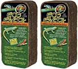 (2 Pack) Zoo Med Eco Earth Bricks