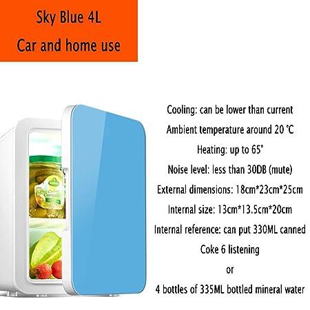 YIWANGO 4L Portátil Refrigerador Fría Caliente Doble Función ...
