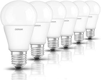 Osram Star Cl A 75 Bombilla LED E27, 10 W, Blanco, 6er Pack, 6 Unidades: Amazon.es: Iluminación