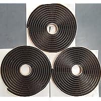Second Skin Damplifier Butyl Rope Sound Deadener 3 Rolls (3/8 X 15 Each)