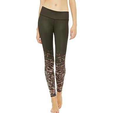 Alo Yoga Para Mujer Leggins - Multi -: Amazon.es: Ropa y ...