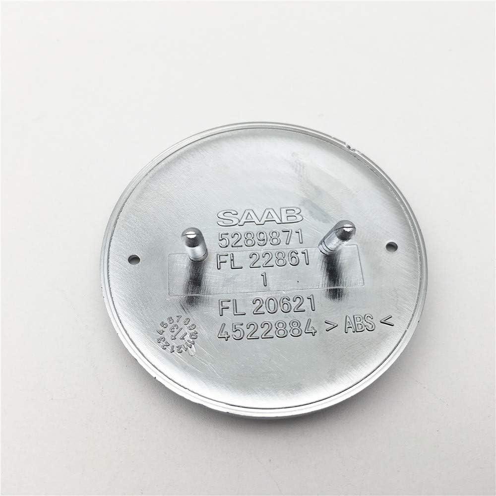 FTC 1 st/ück f/ür saab Scania 9-3 9000 900 Resin Domed Motorhaubenabzeichen nagelneues Teil 4522884 Blau