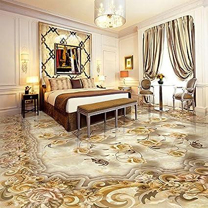 Lwcx Custom Mural Wallpaper Living Room 3d Floor Tiles European
