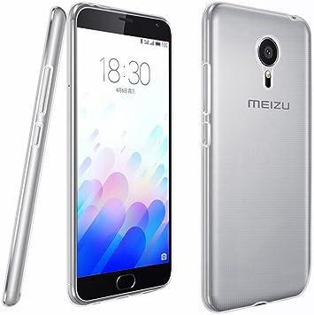 Tumundosmartphone Funda Gel TPU Fina Ultra-Thin 0,3mm Transparente para MEIZU M3 Note: Amazon.es: Electrónica