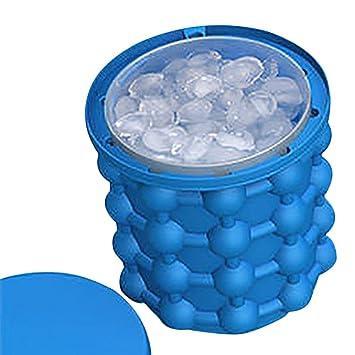 Molde de silicona para hacer cubitos de hielo, cubo para fiesta, moldes para contenedores