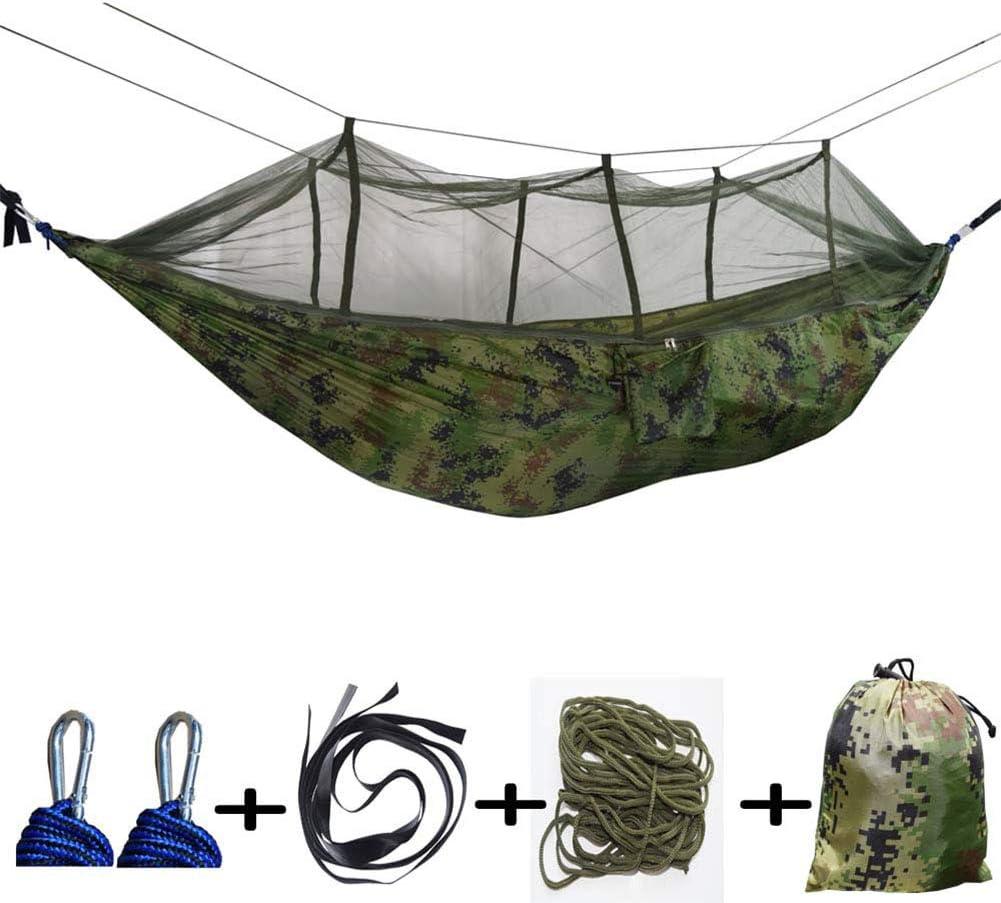 AKDSteel Amaca Doppia zanzariera da Campeggio da Appendere Camouflage