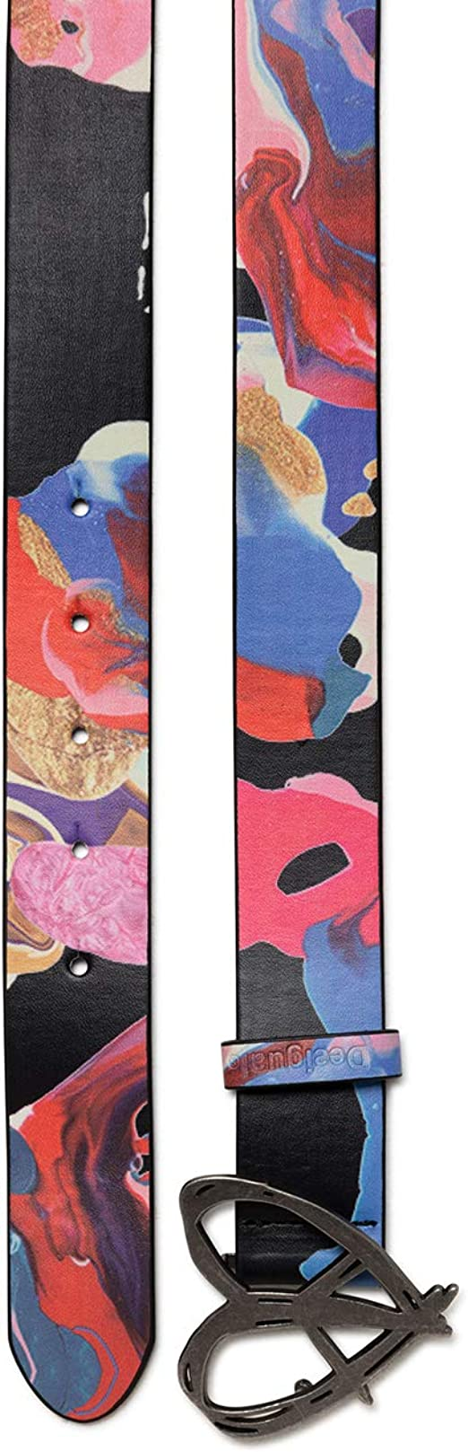 Desigual Belts Brushes Cintur/ón para Mujer