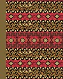 Journal: Tribal Pattern 8x10 - GRAPH JOURNAL - Journal with graph paper pages, square grid pattern (8x10 Patterns and Designs Graph Journal Series)