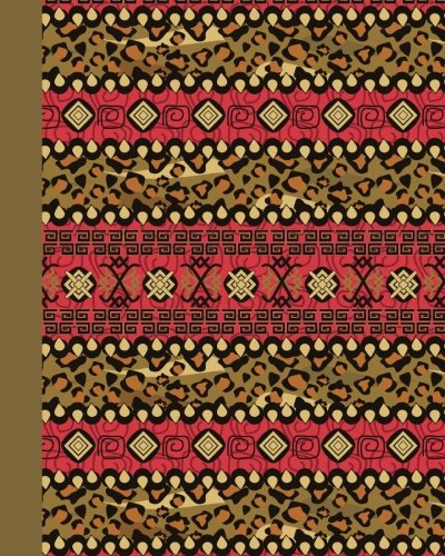 Journal: Tribal Pattern 8x10 - GRAPH JOURNAL - Journal with graph paper pages, square grid pattern (8x10 Patterns and Designs Graph Journal Series) by CreateSpace Independent Publishing Platform