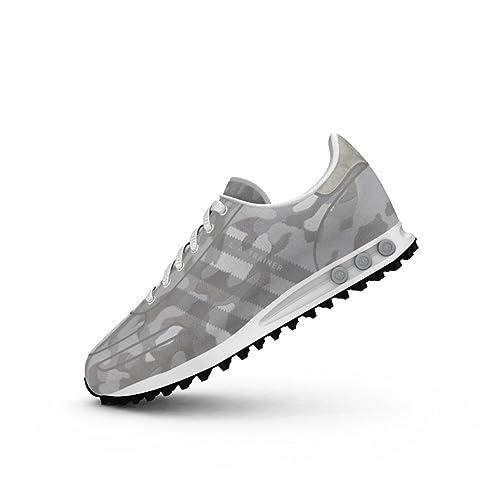 new style a20be e9ecd Scarpe adidas – La Trainer Weave bianco grigio grigio formato  40 2