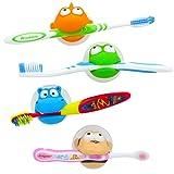 Hurley Hippo & Friends Kids Toothbrush Holder Set