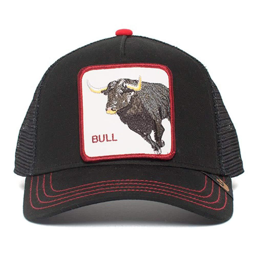 Goorin Brothers Unisex Animal Farm Snap Back Trucker Hat Black Bull Honky One Size by Goorin Bros. (Image #1)