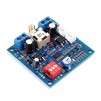 Heat Dissipation PWM Four Wire Fan Temperature Two 2-Way Speed Controller Board