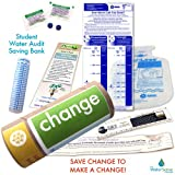 Student Water Audit Water Bank Saving Eco-kit| Change | Bank on Savings! Water Conservation Ideas.