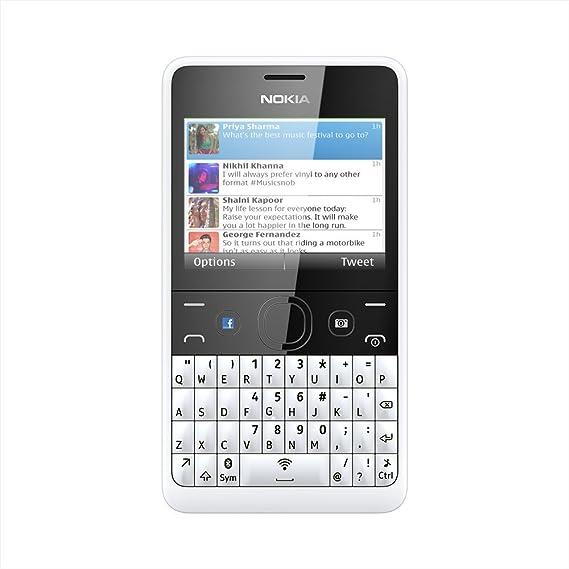 93914d18b Nokia Asha 210 (White)  Amazon.in  Electronics