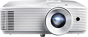 Optoma H184X Affordable Home & Outdoor Movie Projector | HD Ready 720p + 1080p Support | Bright 3600 Lumens for Lights-on Viewing | 3D-Compatible | Speaker Built in
