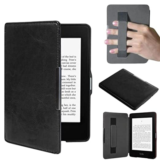 LAAT 1PCS Funda de Cuero Compatible Amazon Kindle Paperwhite ebook ...