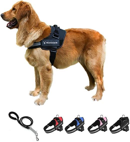 Arnés para perro KZ sin tirones reflectante, arnés para perro ...