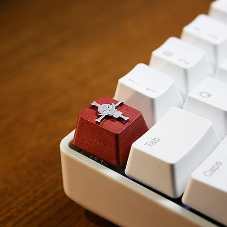 SSSLG All-Resina roja Esc tecla Clave en Relieve, estéreo 3D ...