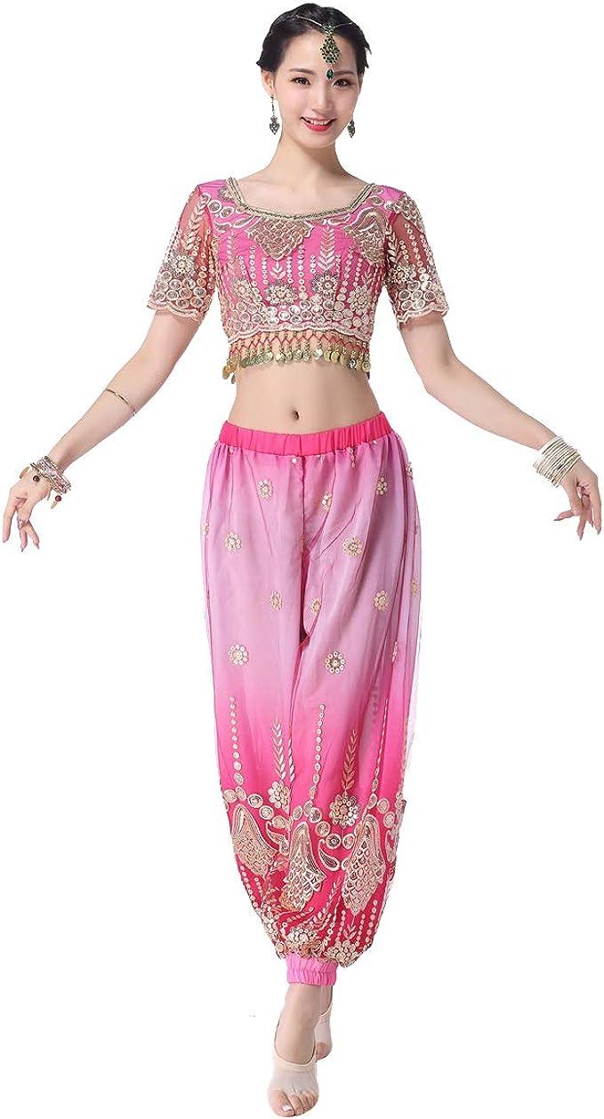 Amazon.com: Disfraz de danza del vientre de Misi Chao ...