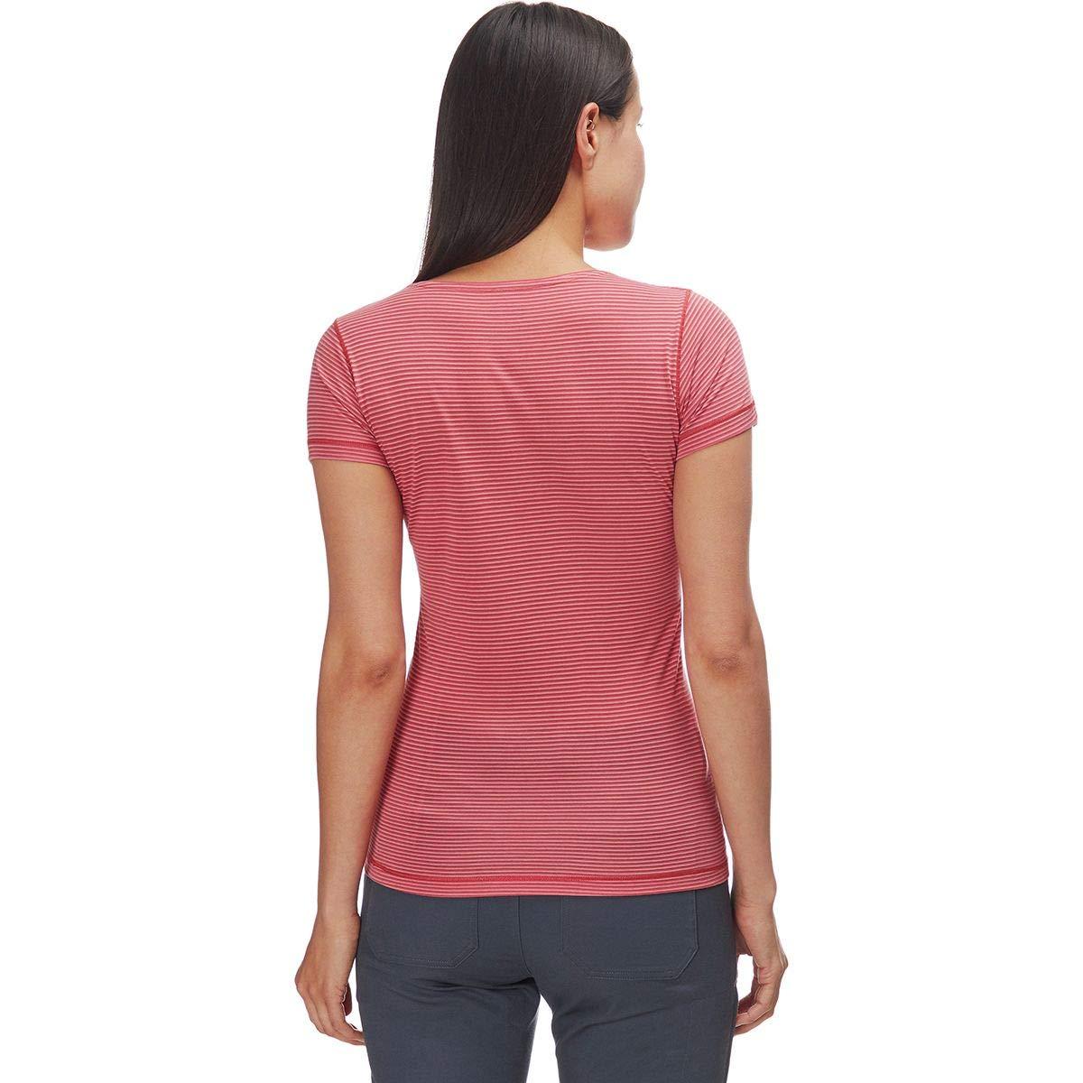XL FJALLRAVEN Damen Abisko Cool T-Shirt W Dahlia Hemd