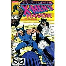 Marvel Comics Presents #30 : Havok, Wolverine, Black Panther, Coldblood, & Leir (Marvel Comics)