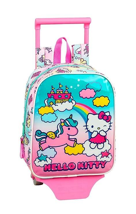 Hello Kitty Candy Unicorns Mochila guardería Ruedas, Carro, Trolley ...