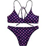 Femmes push-up rembourrés soutien-gorge Dots Bikini [ maillot de bain femme 2 pieces ]