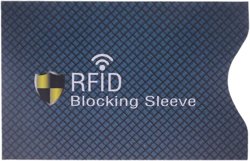 Faguo 1PC Anti-vol pour Protection de Carte de cr/édit RFID /étui de Blocage de la Peau /à Manches Nouveau