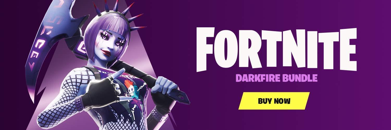 Fortnite: Darkfire Bundle – PlayStation 4 (Disc not included)