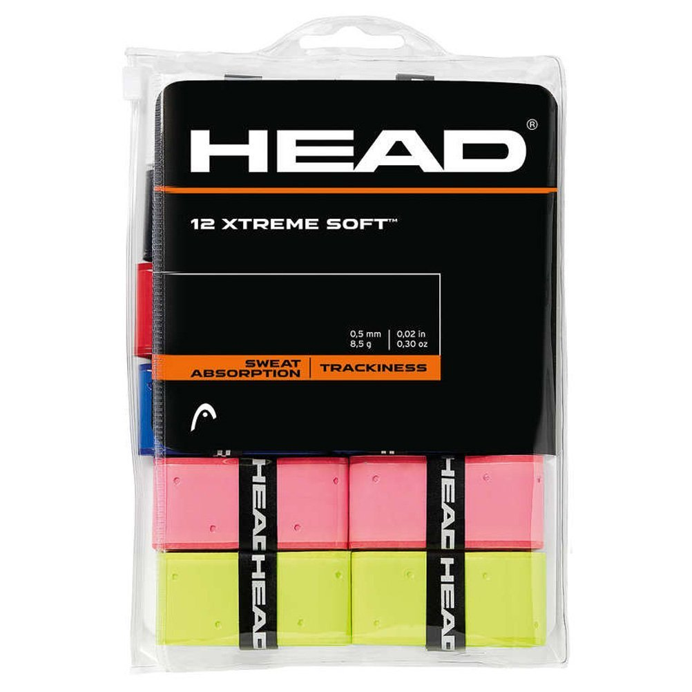 12 Overgrip Head Xtreme Soft tennis grips colored 285409