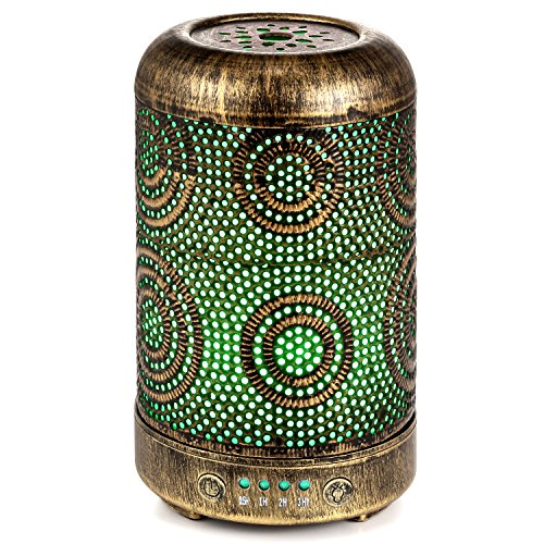 Aromatherapy Metal Diffusers for Essential Oils Only $12.98