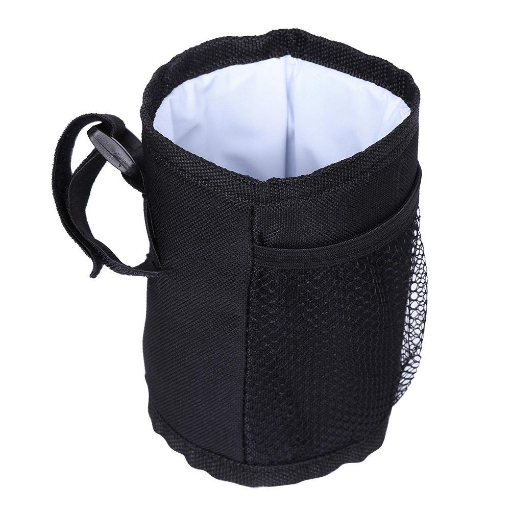 1 st/ück Sicher ungiftig Halten Warm Schwarz Farbe Trinken Wasserflasche Universal Halter f/ür Kinderwagen Isolation Cup Bag Babyflasche Tasche