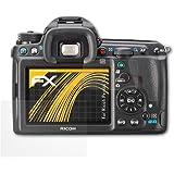 atFoliX Protecteur d'écran Ricoh Pentax K-3 Film Protection d'écran - Set de 3 - FX-Antireflex anti-reflet