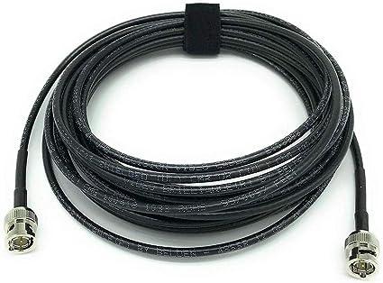 Belden 1855A HD-SDI Mini RG59 Video Cable 4.5 GHZ  BNC Male to BNC Male 100 ft.
