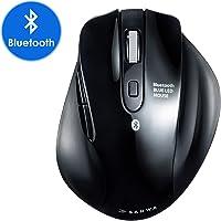 SANWA (Japan Brand) Bluetooth Vertical Ergonomic Mouse, Silent Noiseless Blue LED Optical Computer Mice, (800/1200/1600…